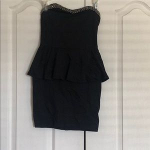 Zara right cocktail detailed dress